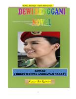 "NOVEL REMAJA "" DEWI RENGGANI """