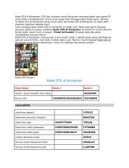 Kode GTA di Komputer.docx