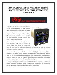AIRCRAFT ENGINE MONITOR KEEPS YOUR ENGINE HEALTHY EFFICIENT AND SAFE.docx