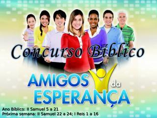 Concurso Bíblico 2011 - 14.ppt