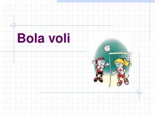 Bola Voli.ppt