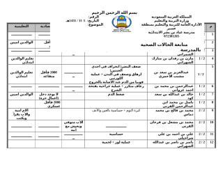 بيانات شاملة عن الطلاب 1431.docx