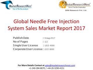 Global Needle Free Injection System Sales Market Report 2017.pdf
