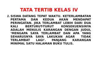 TATA TERTIB KELAS IV.docx