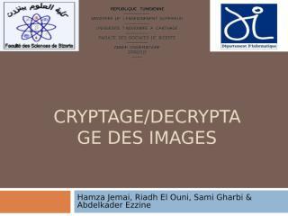 cryptage_decryptage.ppt