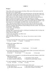 English Lesson - SMK First Class - Unit 4.docx