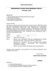 Form 3.10 (Undangan Musdes I).doc