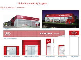 KIAMOTORS Global Space Identity Program Presentation.pptx