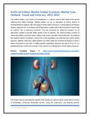 Artificial Kidney Market Global Scenario.pdf