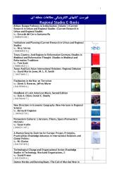 46- Regional Studies E-Books List.pdf