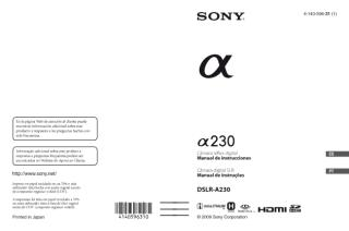 Manual sony A230 Portugues.PDF
