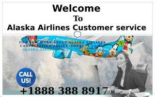 Points to Remember While traveling in Alaska Airlines dial +1888 388 8917.pptx