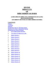 DIVINE MIRACLES OF SHRI SHIRDI SAI BABA.doc