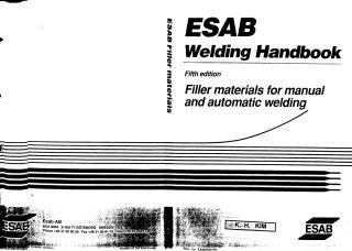 ESAB Welding Handbook - 5 edition.pdf