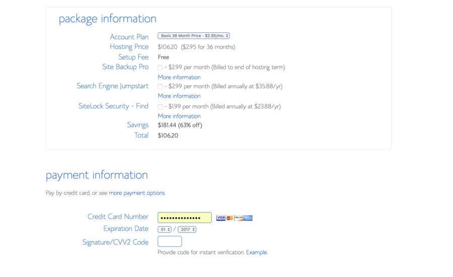 Bluehost-Billing-Info