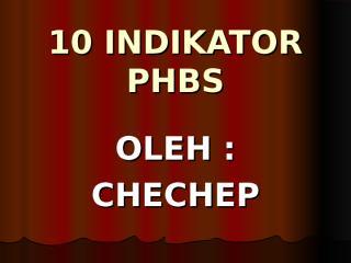 10 indikator phbs.ppt