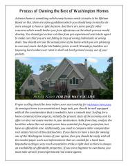 Process of Owning the Best of Washington Homes.pdf