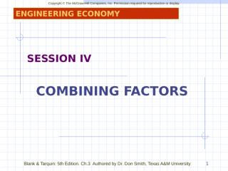 SESSION_IV_COMBINING FACTOR.ppt