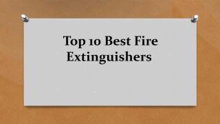 Top 10 Best Fire Extinguishers.pdf