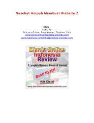 Nasehat Ampuh Membuat Website 2.pdf