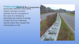 What are the Components of Crash Barrier (1).pptx