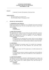 Financial Monitoring-CED.doc