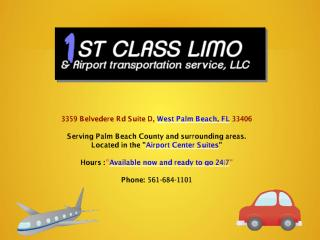 Limo Service And Limousine Service West Palm Beach FL.pdf