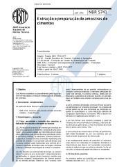 NBR05741-JUN1993- Extração e Preparação de Amostras de Cimentos (Procedimento).pdf